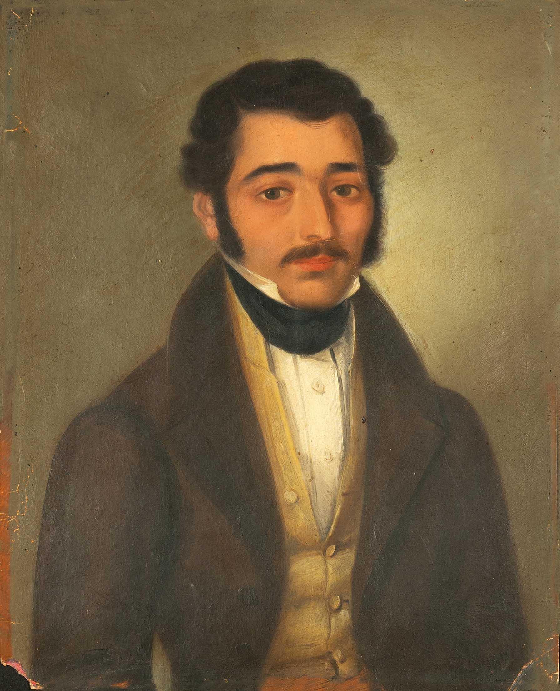 Πορτραίτο του Αλεξ. Μαυροκορδάτου (α΄ τέταρτο 19ου αιώνα)