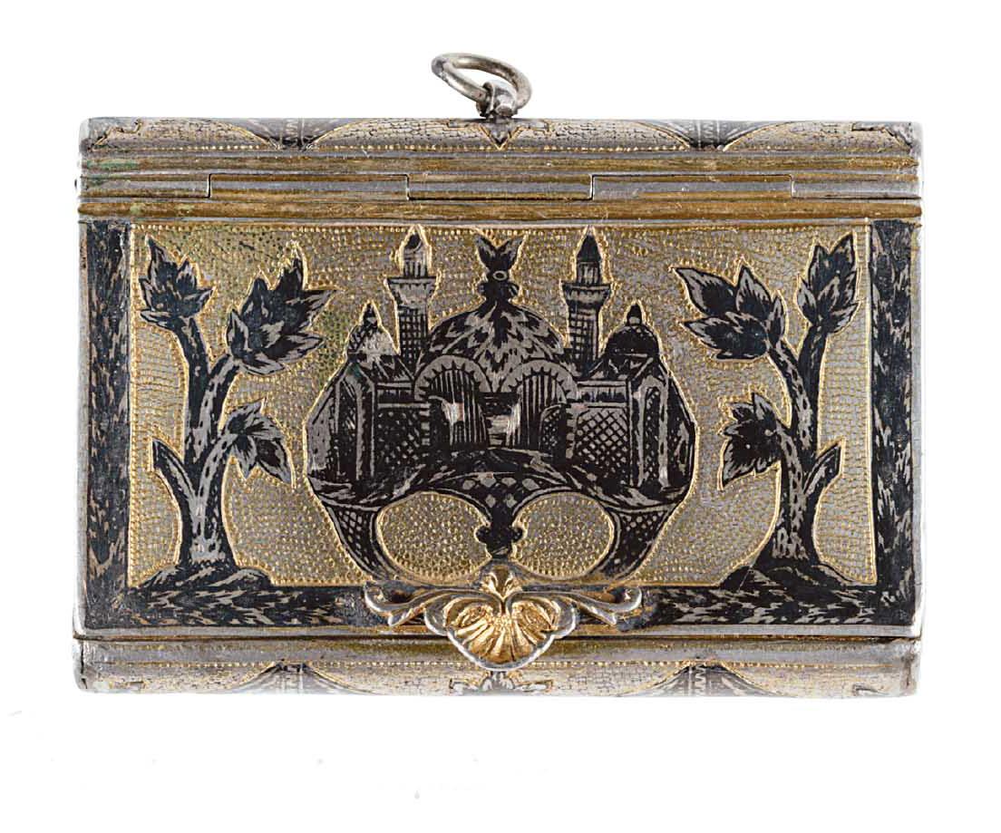 Ασημένιο κουτάκι ταμπάκου (α΄ μισό 19ου αιώνα)