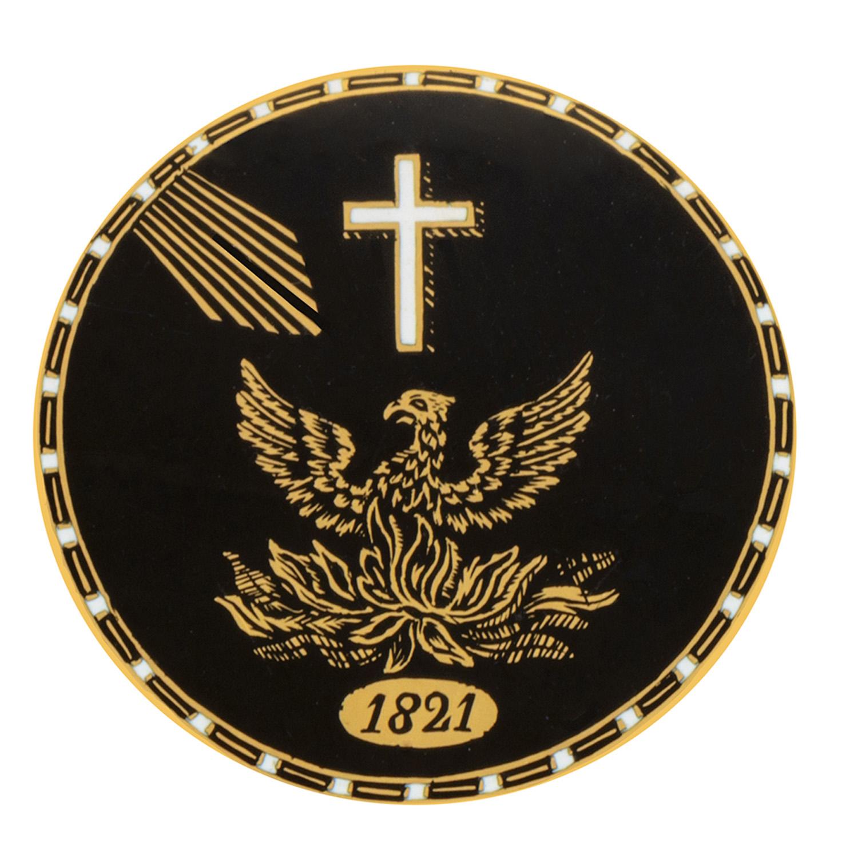 Χρυσή ταμπακιέρα του Ιωάννη Καποδίστρια με τον αναγεννώμενο Φοίνικα